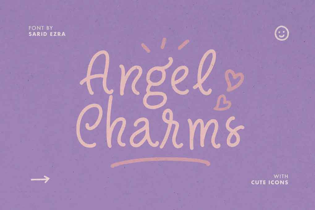 Angel Charms Font