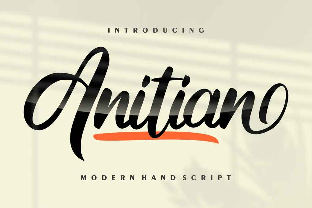 Anitian Font