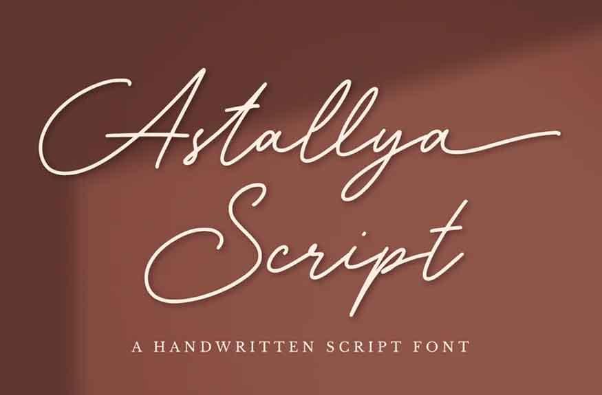 Astallya Font
