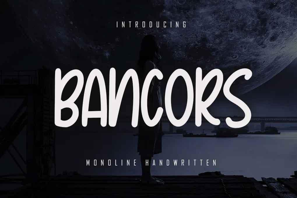 Bancors Monoline Font