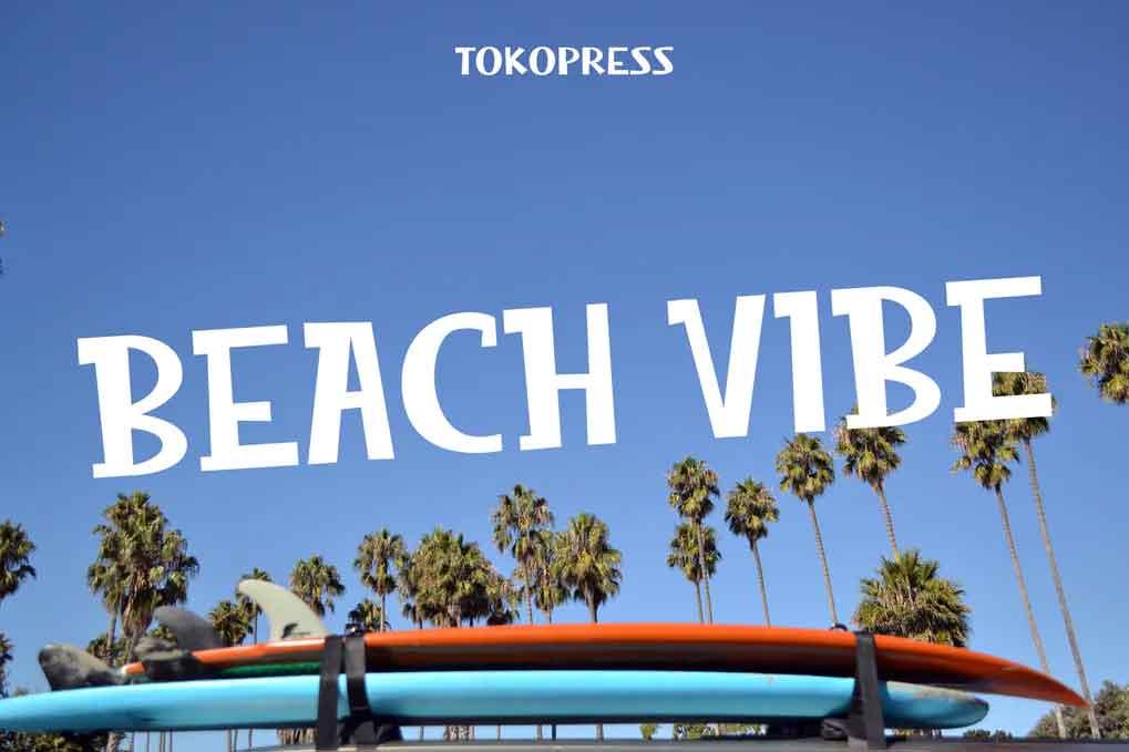 Beach Vibe Font