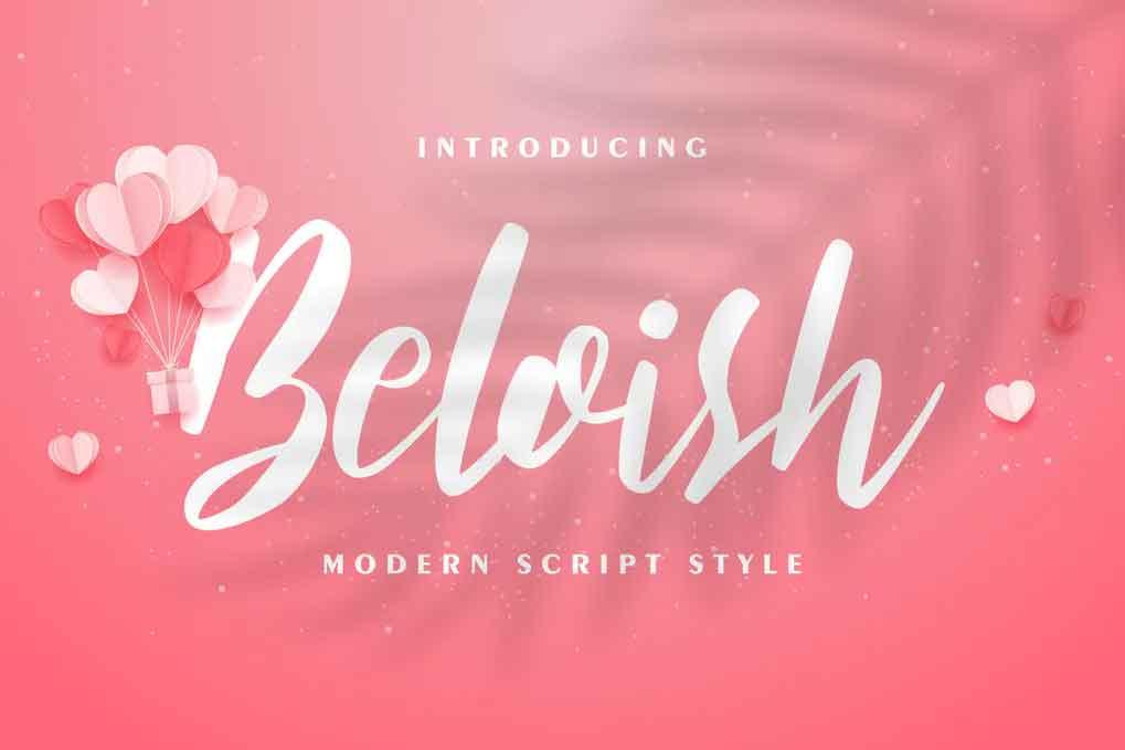 Beloish Font
