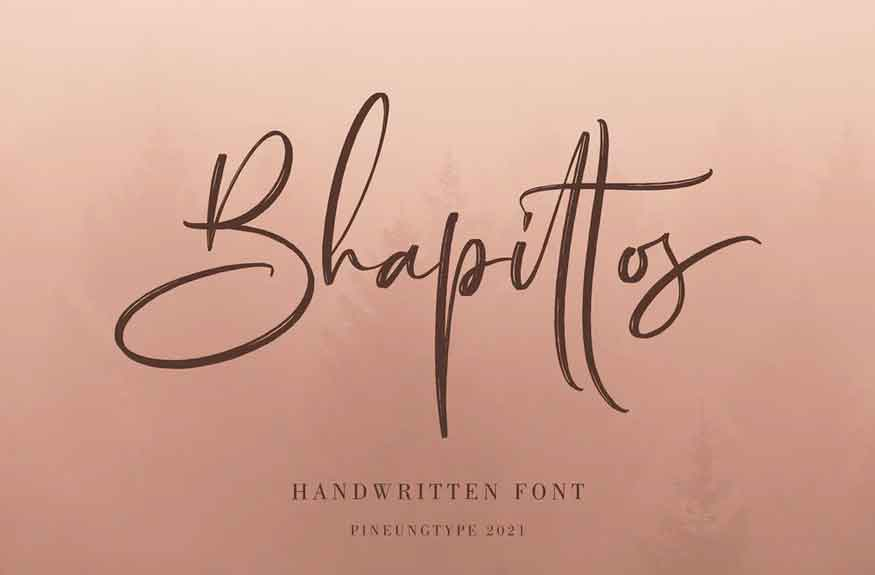 Bhapittos Font
