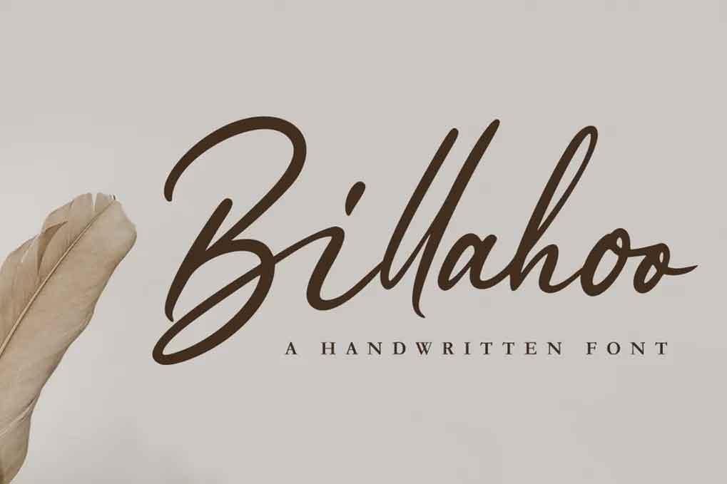 Billahoo Font