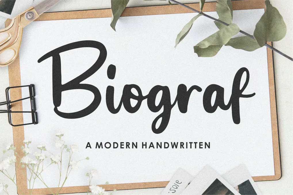 Biograf Font