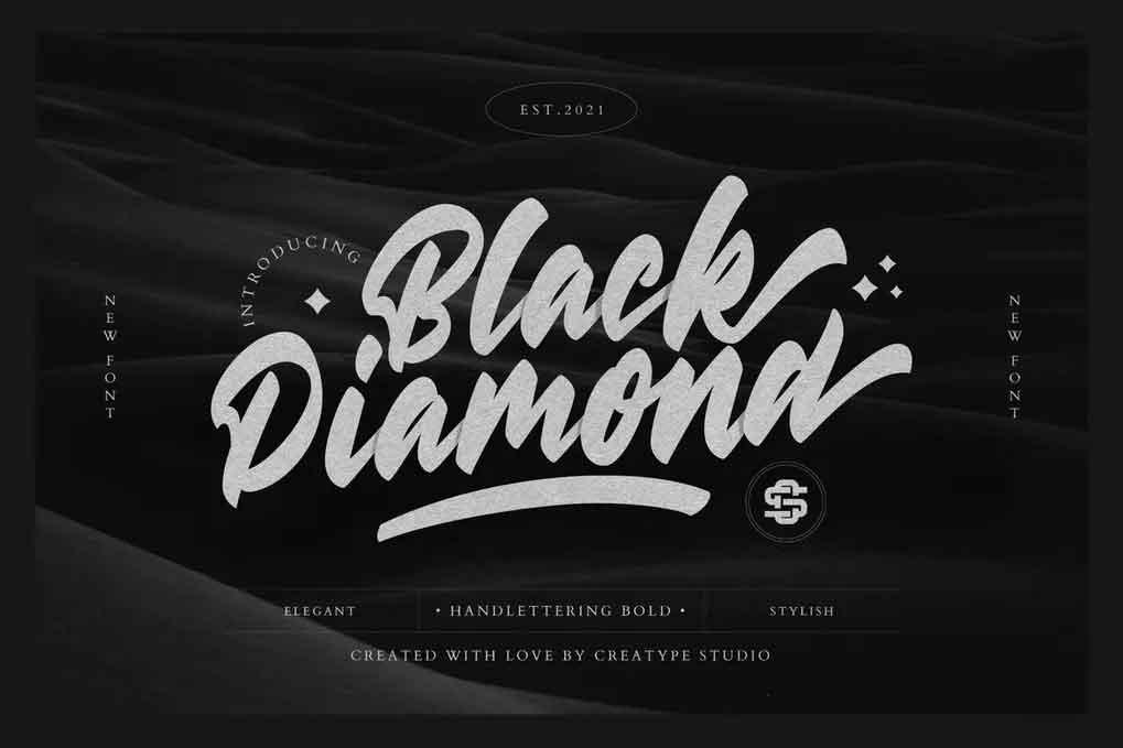 Black Diamond Font
