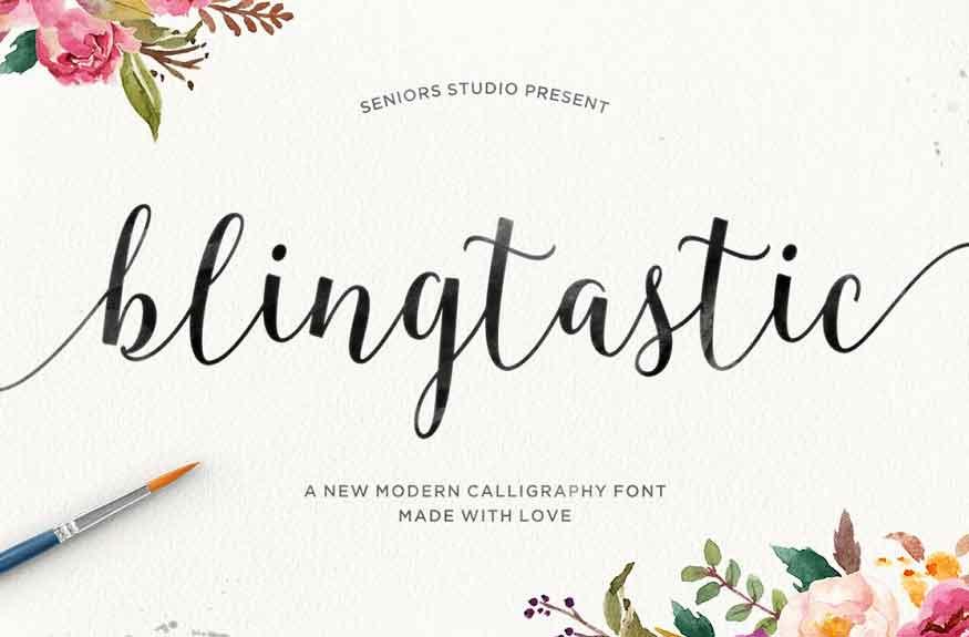 Blingtastic Font