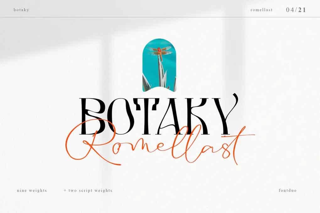 Botaky Romellast Font
