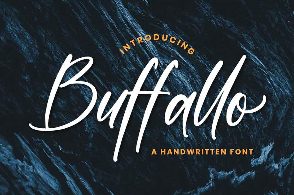 Buffallo Movie Font