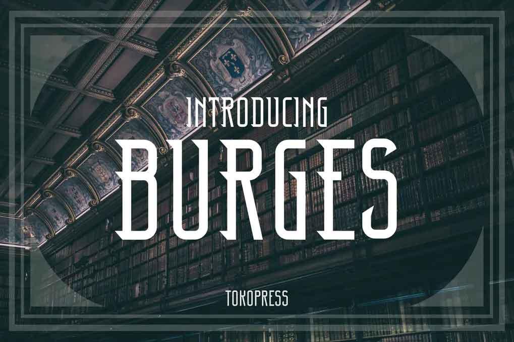 Burges Font
