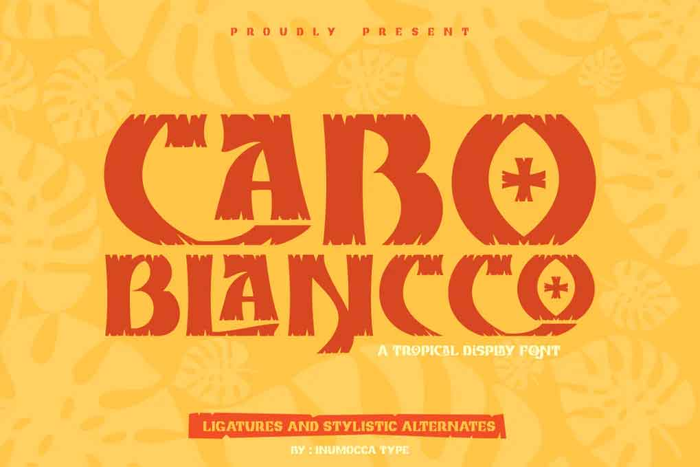 CABO BLANCCO Font