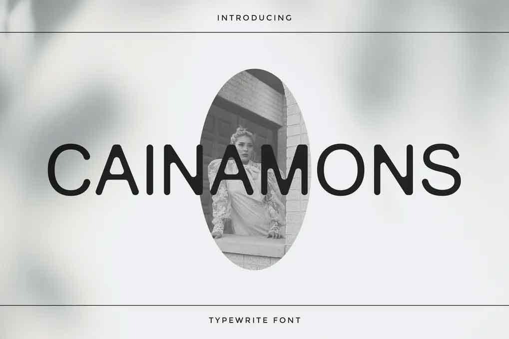 Cainamons Font
