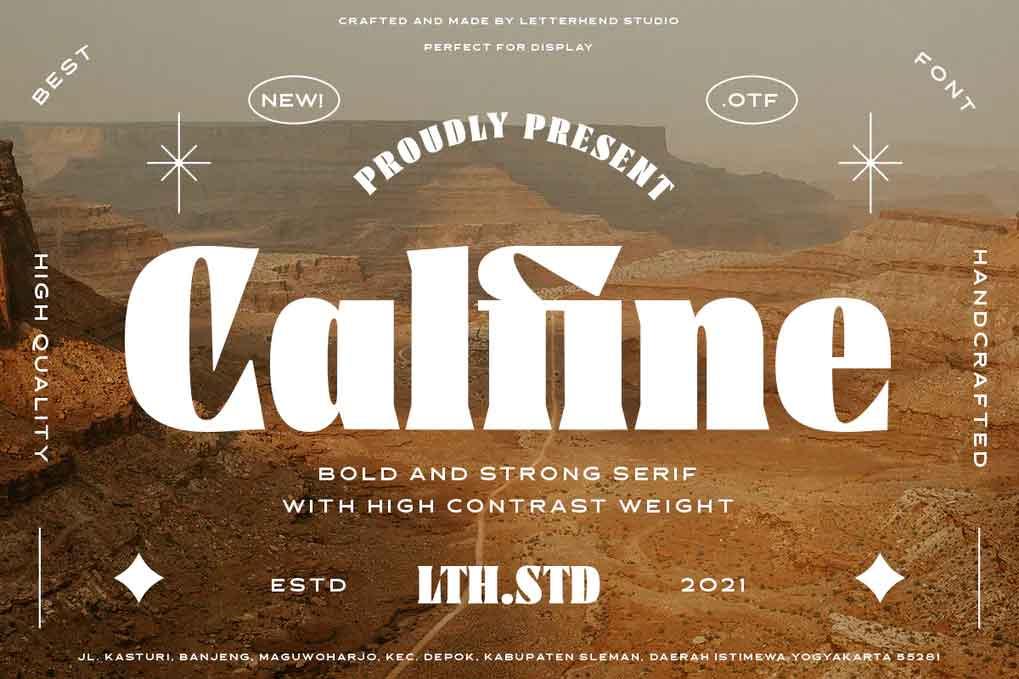 Calfine Font