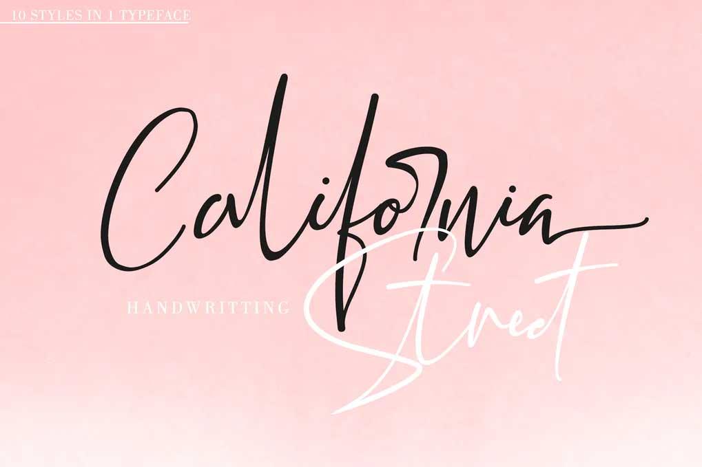 California Street Font