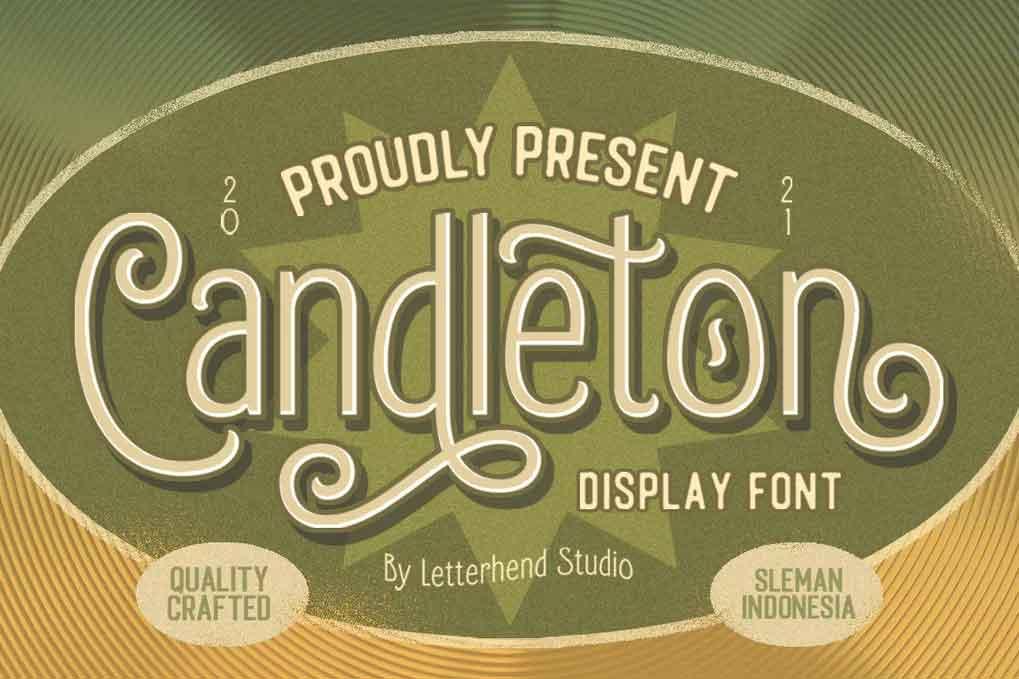 Candleton Font