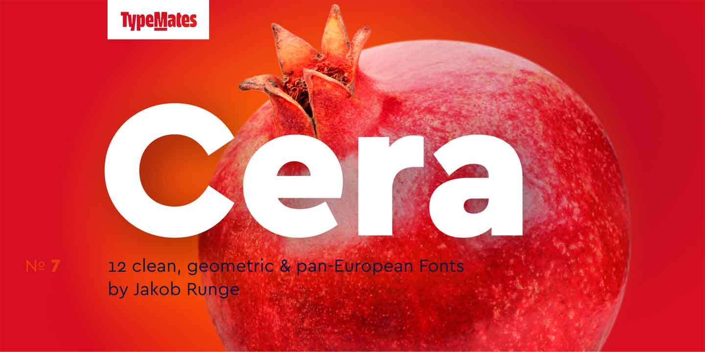 Cera Pro Font