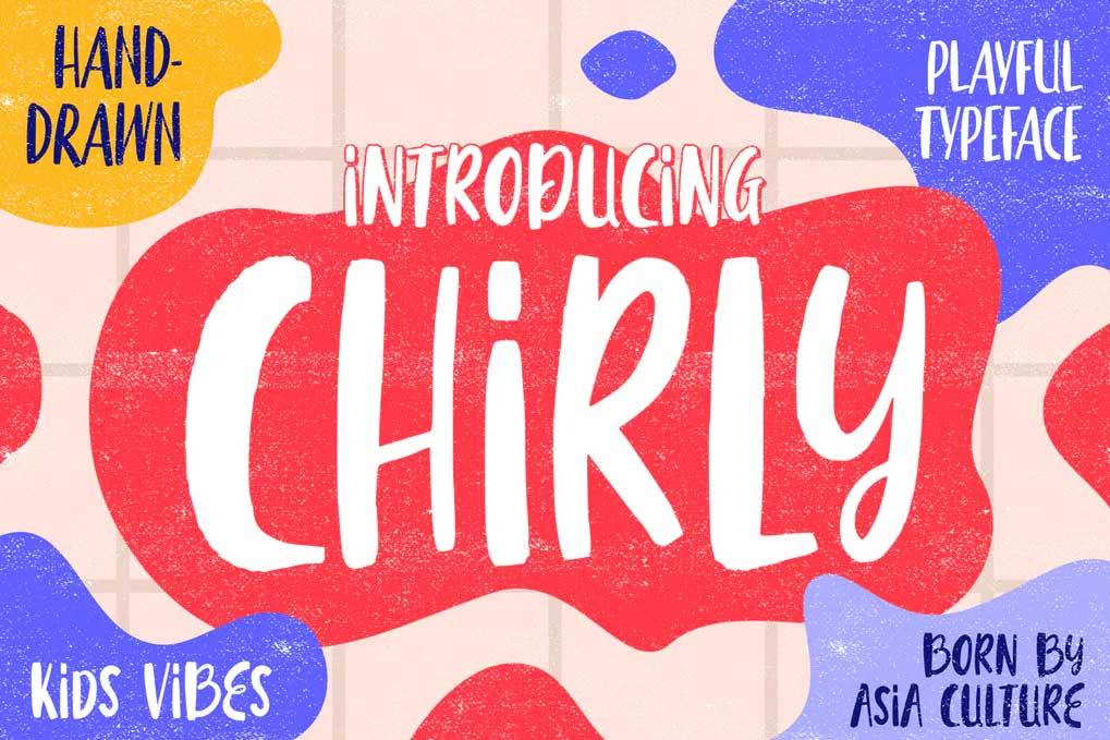 Chirly Font