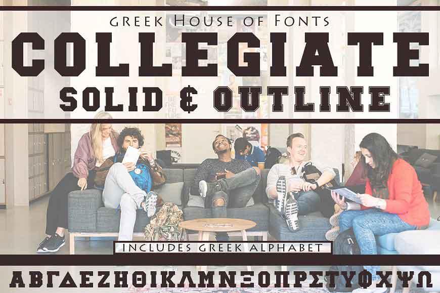 Collegiate Font