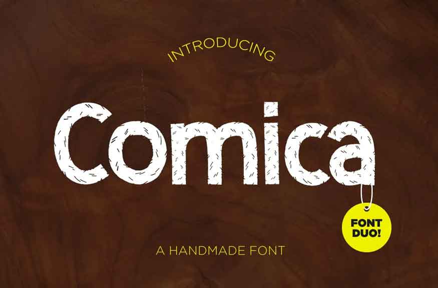 Comica Font Duo