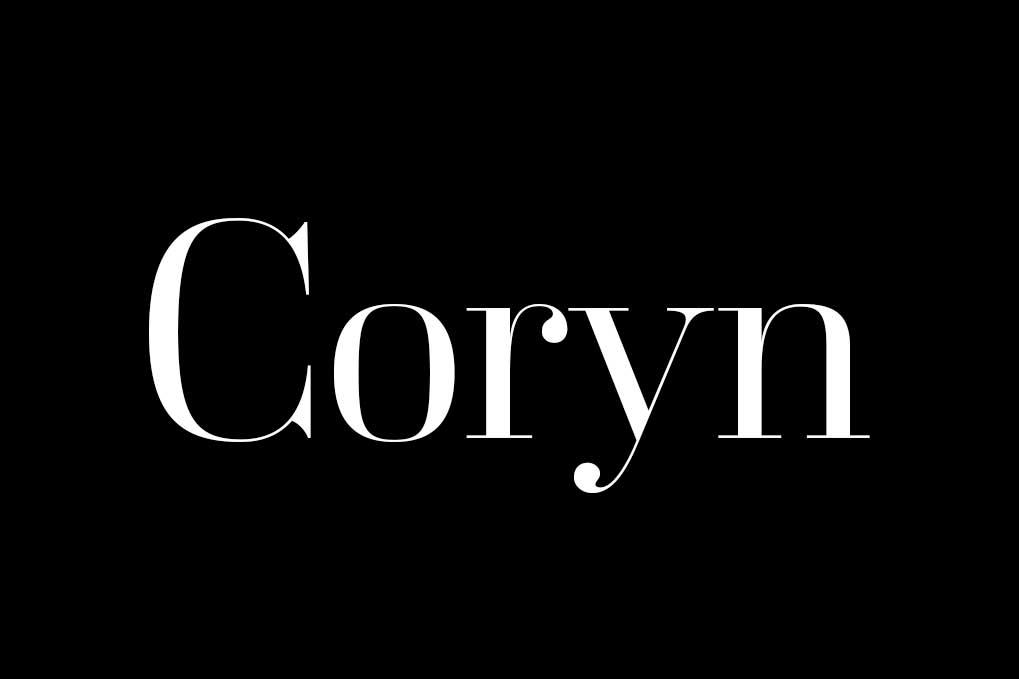 Coryn Didot Font