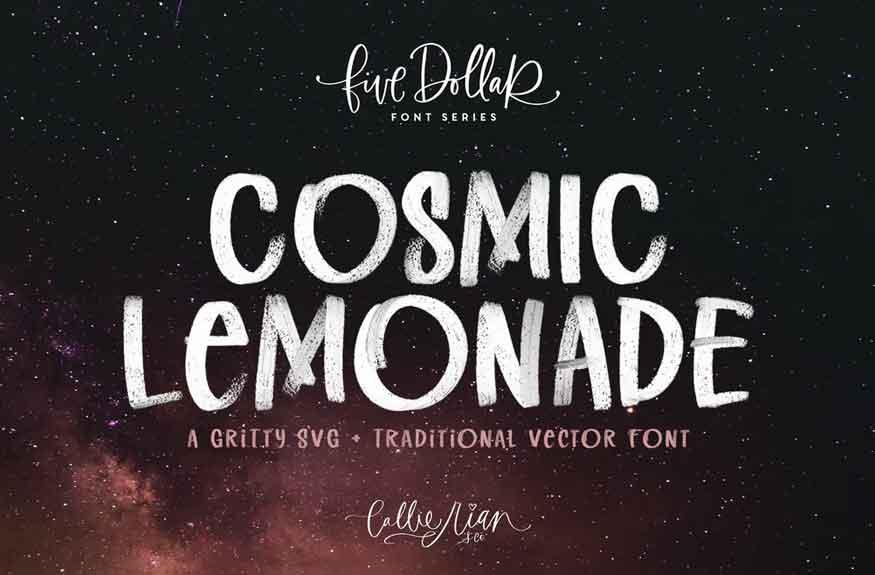 Cosmic Lemonade Font
