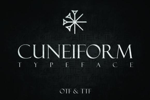 Cuneiform Font