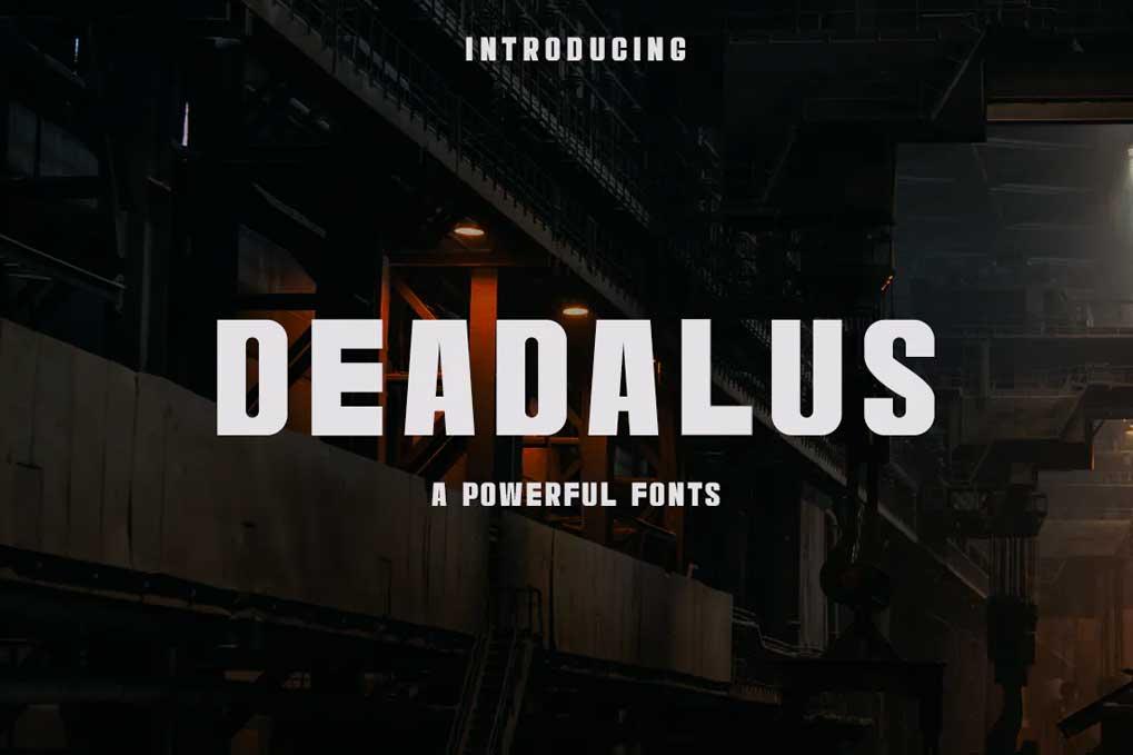 Deadalus Font