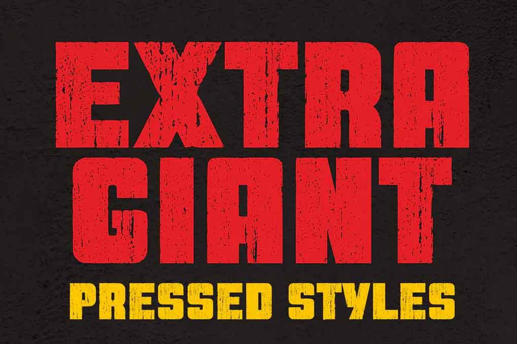 Extra Giant Pressed