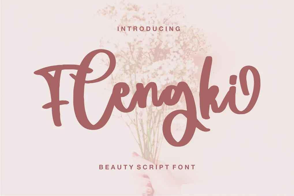Flengki Font