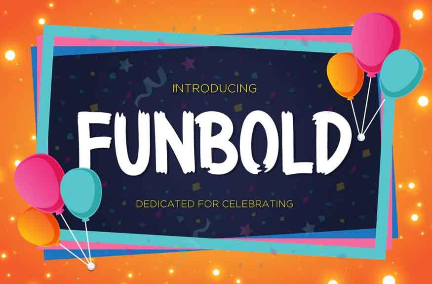 Funbold Font