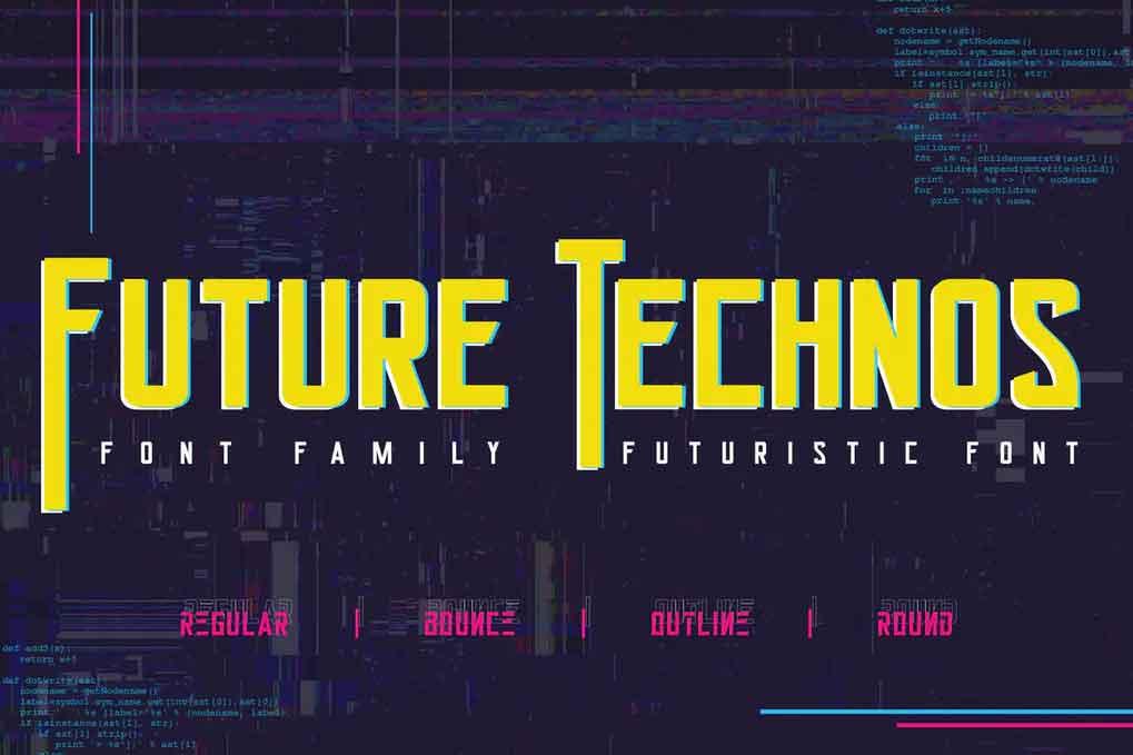 Future Technos Font