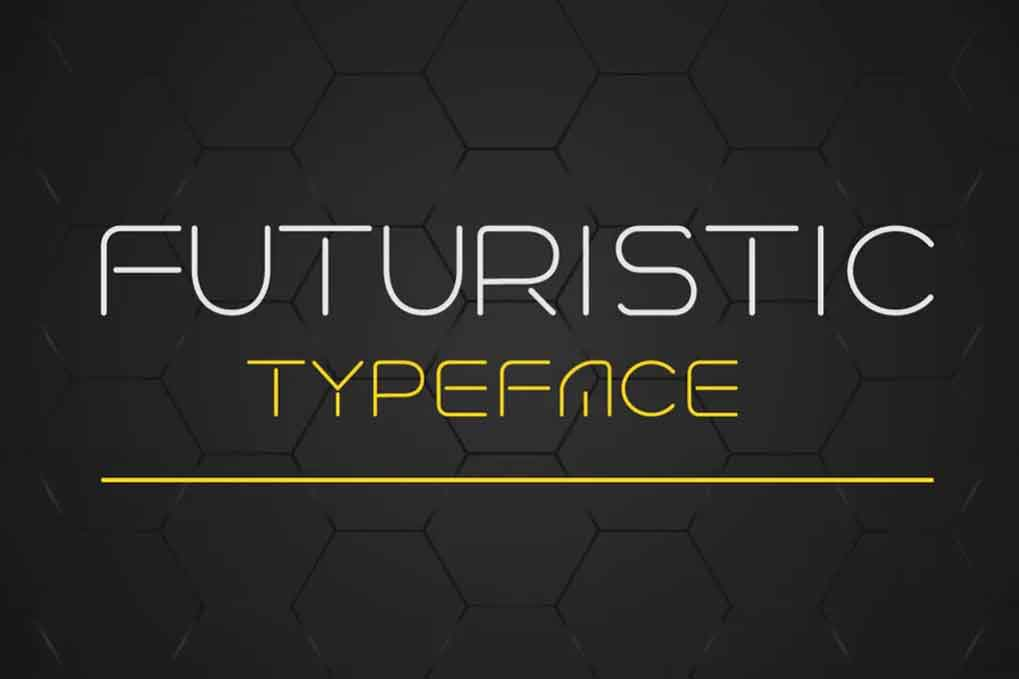 Futuristic Typeface