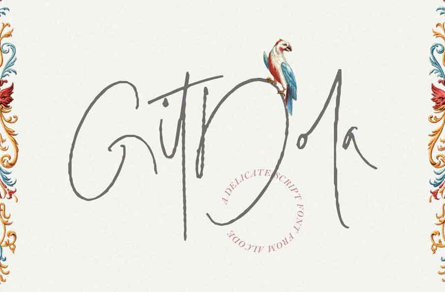 Gitdola Font
