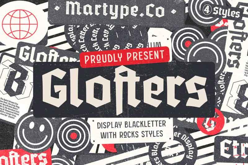 Glofters Font