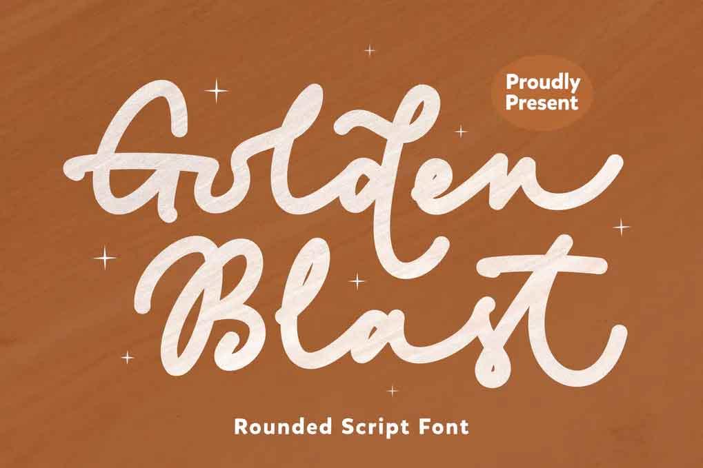 Golden Blast Font