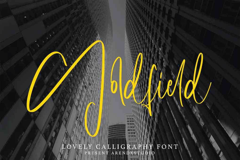 Goldfield Font