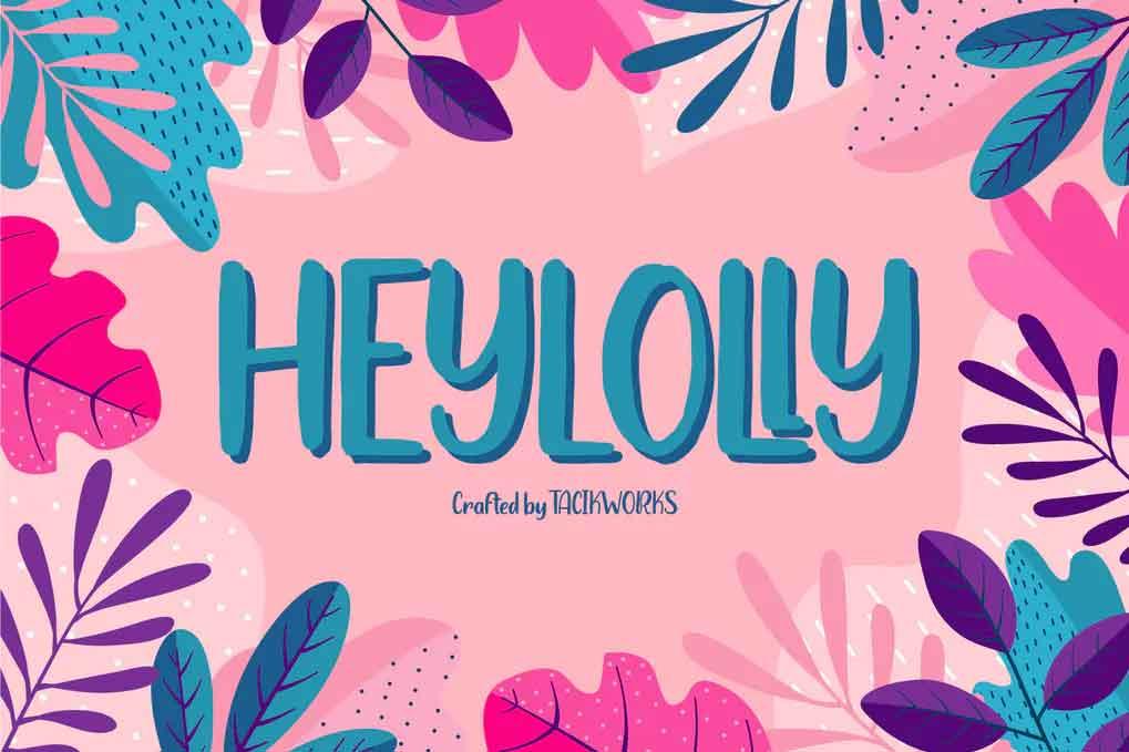 Heylolly Font
