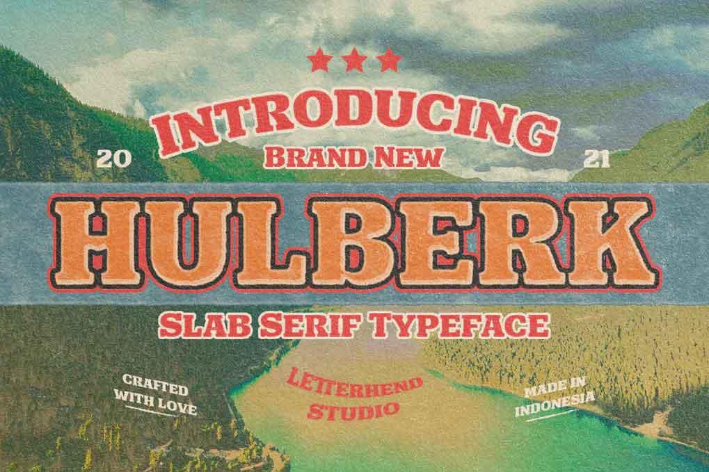 Hulberk Font