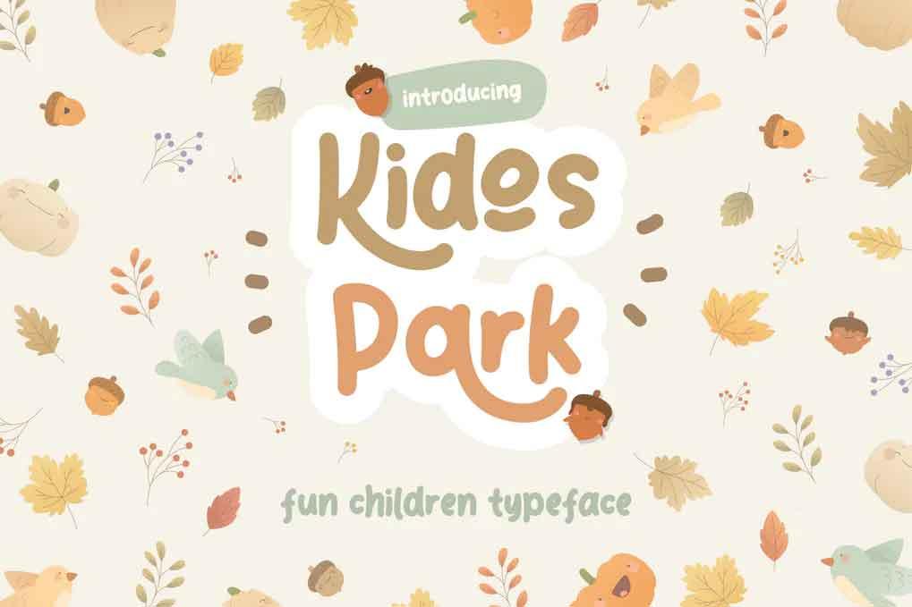Kidos Park Font