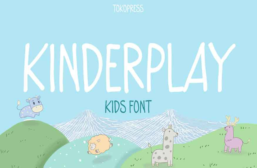 Kinderplay Font