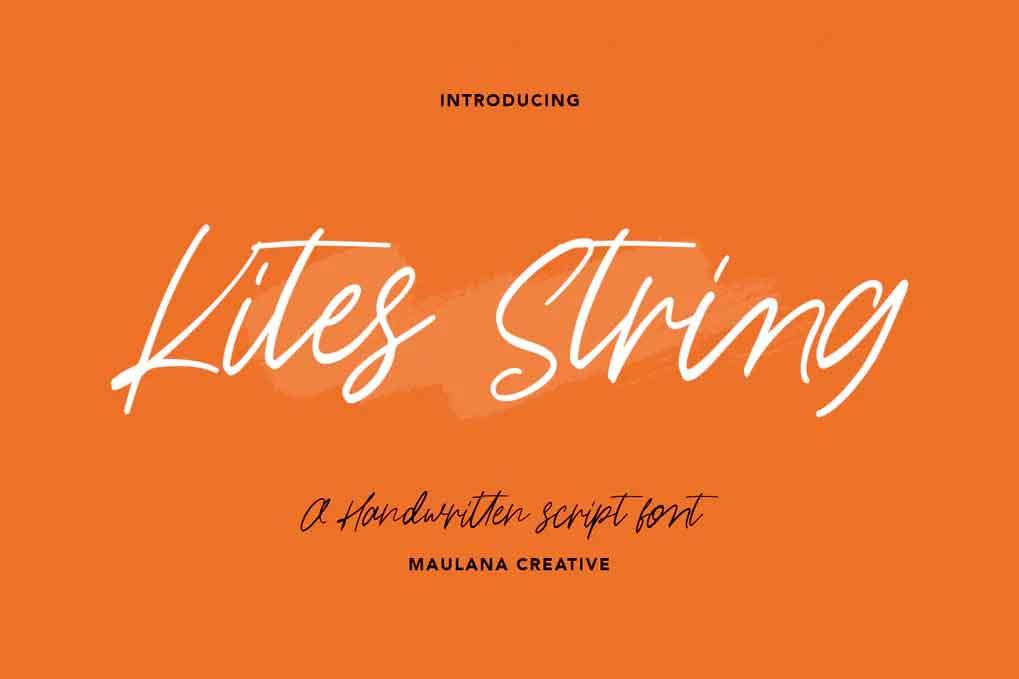 Kites String Font