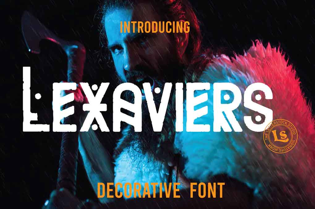 Lexaviers Font