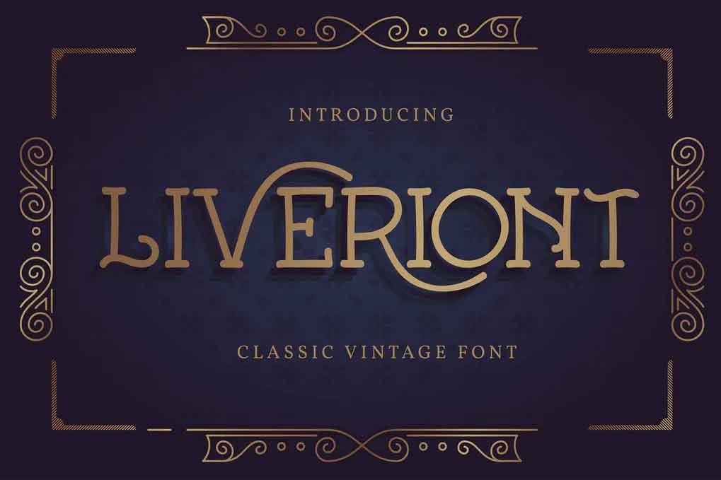 Liveriont Font