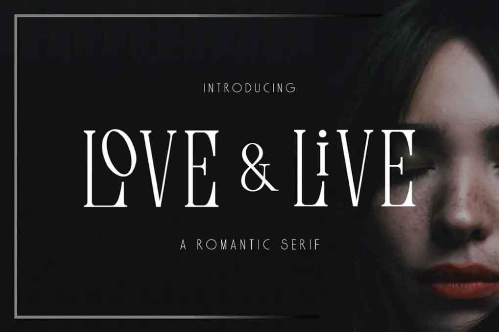 Love & Live Font
