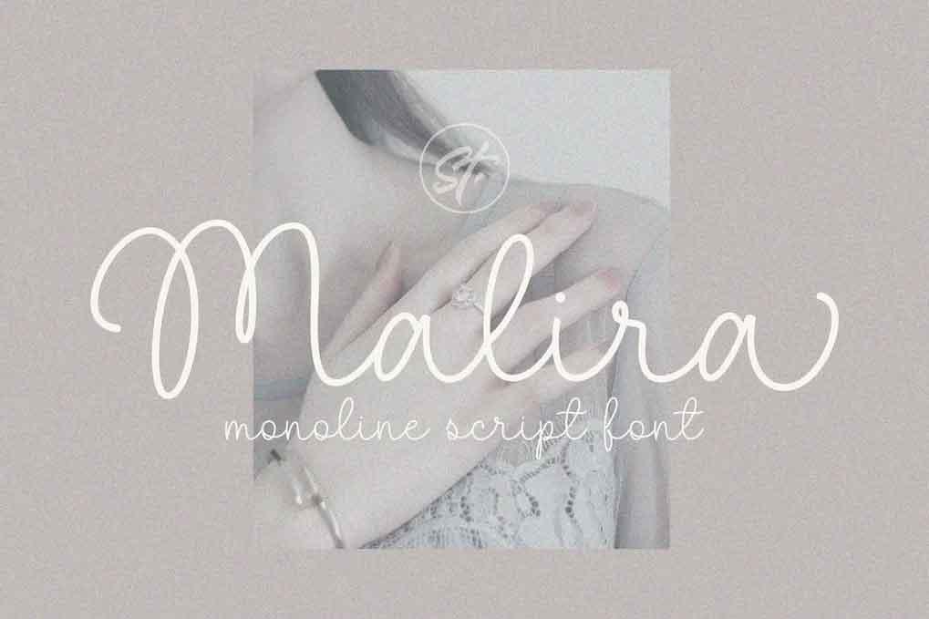 Malira Monoline Font