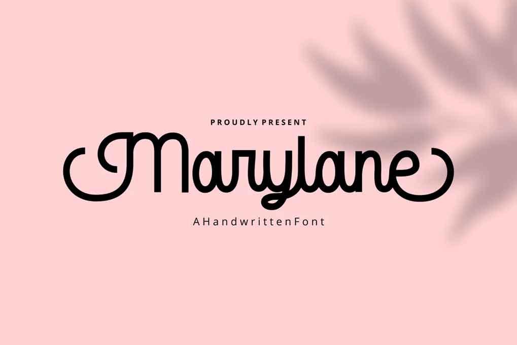 Marylane Font