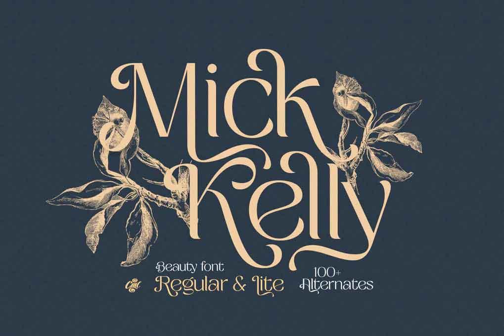 Mick Kelly Font