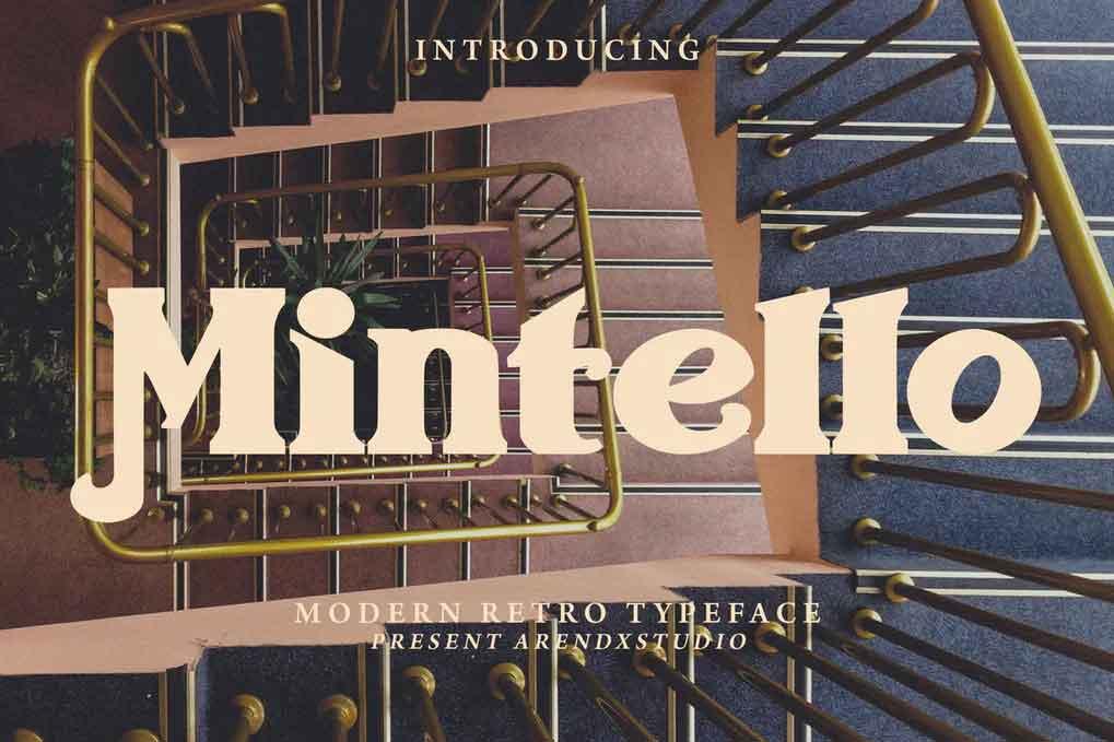 Mintello Font