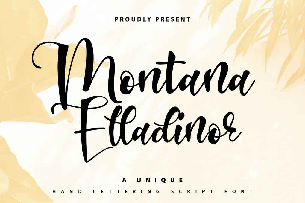 Montana Elladinor Font