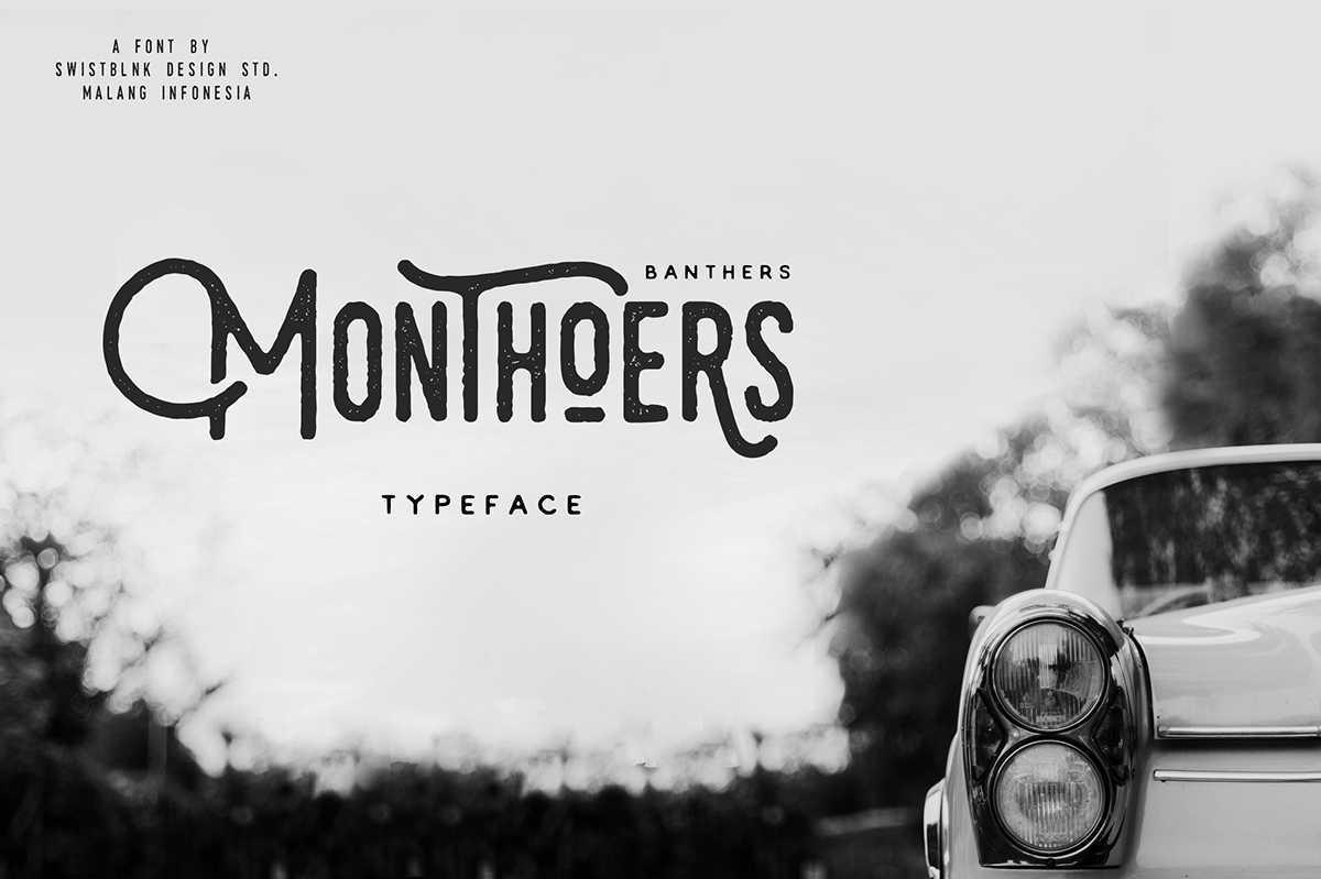 Monthoers Font